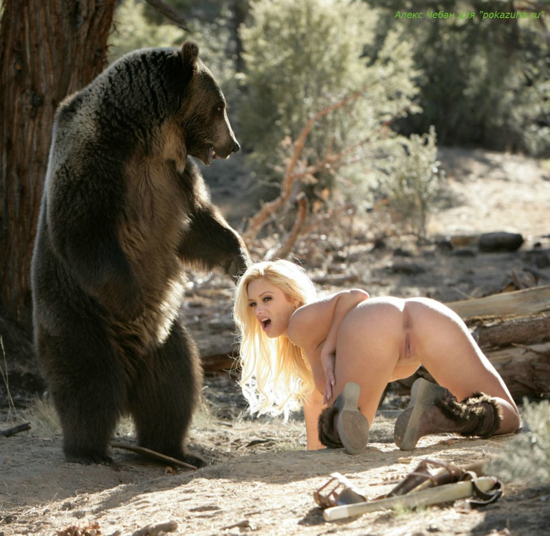 Секс женщин с медведями