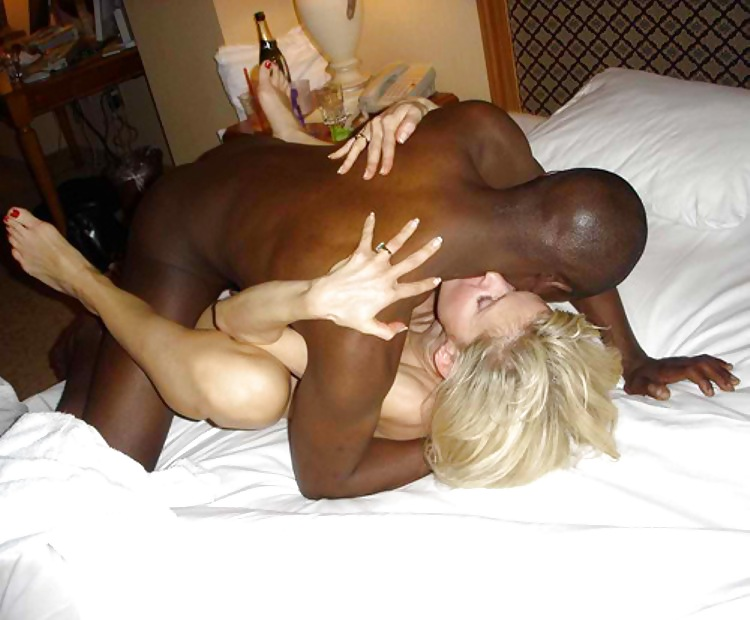 Hot black girls with white dick