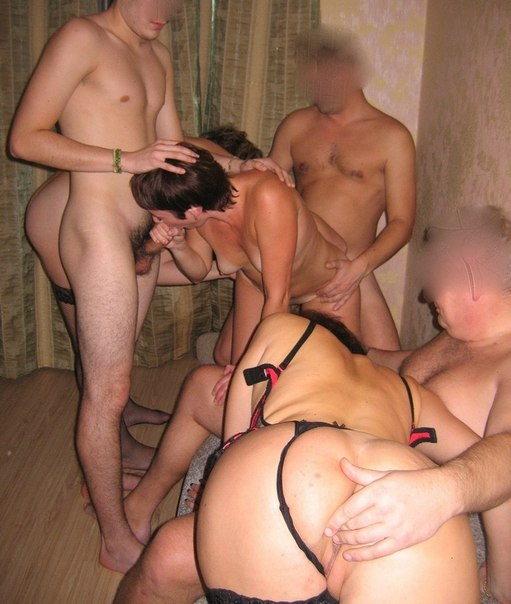 Русское фото групповушки